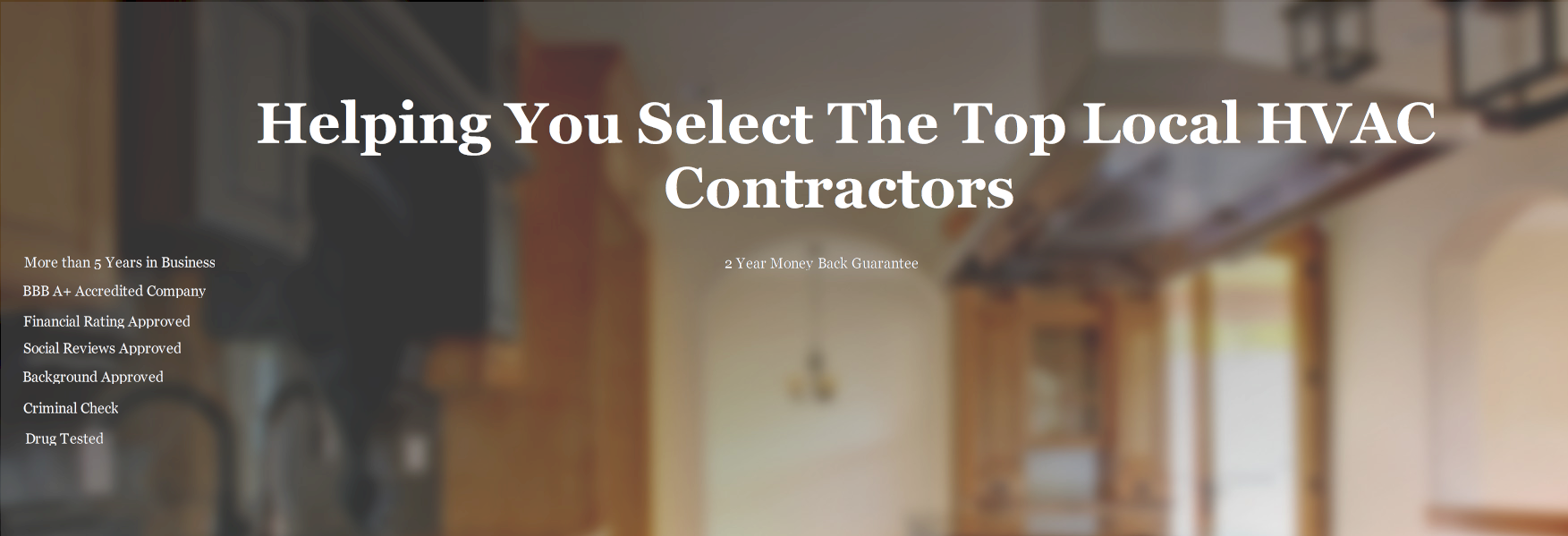 Select HVAC Contractor